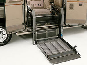 wheelchair lift for a full size van